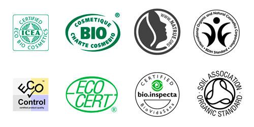 Certificados Cosmética Natural